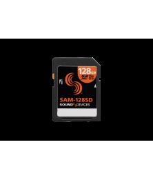 Sound Devices SAM-128SD getestete SD Spreicherkarte