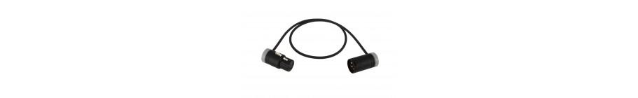 Low-Profile Kabel (XLR-F auf XLR-M)